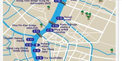 kart over nice og omegn Bangkok kart   Kart Bangkok (Thailand) kart over nice og omegn